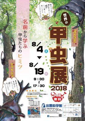 甲虫展2018